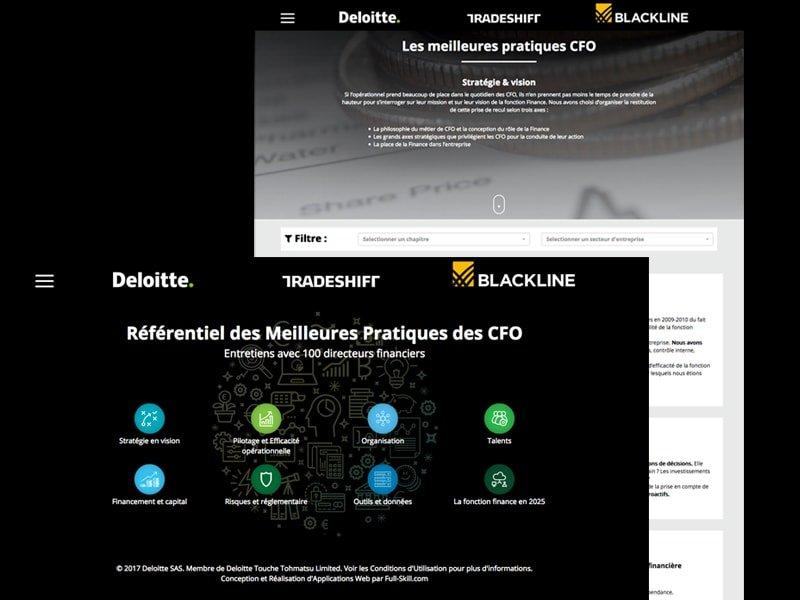fullskill-deloitte ux et design de la webapp référentiel des meilleures pratiques cfo
