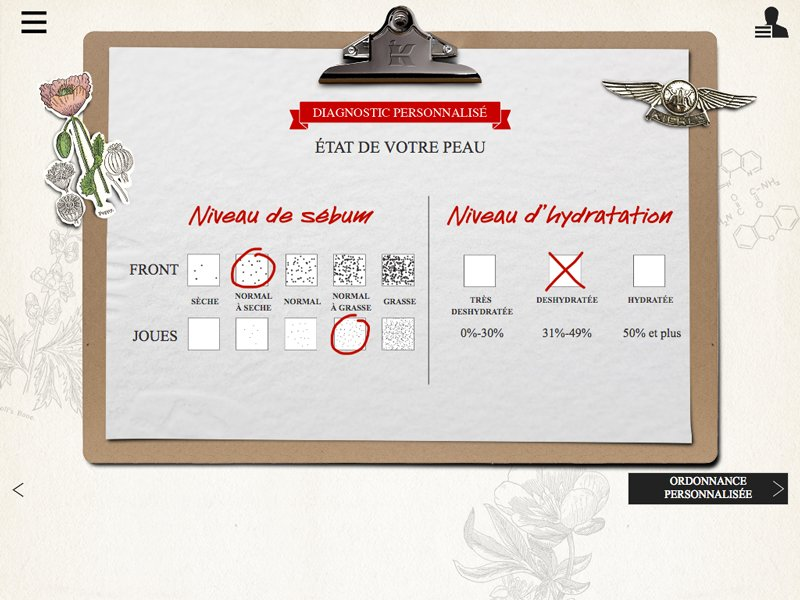 fullskill-jms projet intranet d'integration complexe pour maque de luxe - checkbox particulier